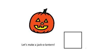 Jack-O-Lantern Adapted Book