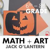 Jack O'Lantern - An Art Lesson on Reflective Symmetry