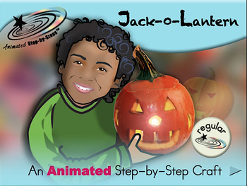 Jack-O-Lantern - Animated Step-by-Step Craft