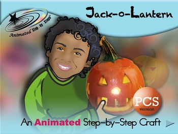 Jack-O-Lantern - Animated Step-by-Step Craft PCS