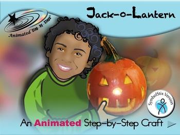 Jack-O-Lantern - Animated Step-by-Step Craft SymbolStix