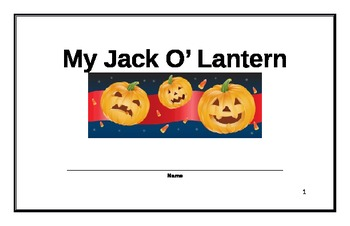 Jack O' Lantern Beginning Reader