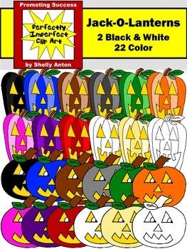 Halloween Jack O'Lanterns Clipart
