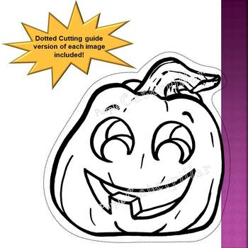 Jack O' Lantern Clip art and Cut Outs