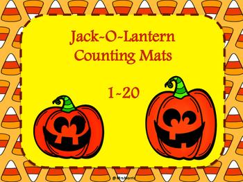 Jack-O-Lantern Counting Mats