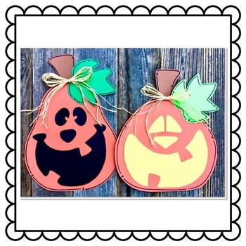 Jack-O-Lantern Craft: Halloween Crafts: October Crafts