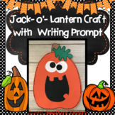 Jack-O-Lantern Craft: Halloween Craft: Fall Crafts:October