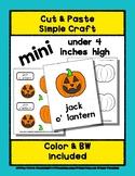 Jack O'Lantern - Cut & Paste Craft - Mini Craftivity for P