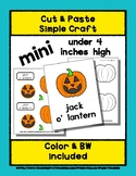 Jack O'Lantern - Cut & Paste Craft - Mini Craftivity for P