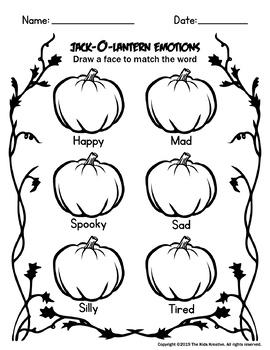 Jack-O-Lantern Emotions