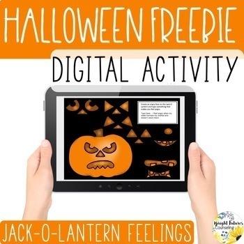 Jack-O-Lantern Feelings Digital Activity