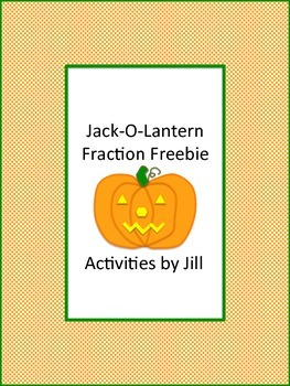 Jack O Lantern Fraction Freebie