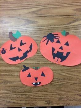 Halloween Glyph: Math, Geometry, Angles of Triangles, Angle Sum Theorem