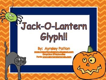 Jack-O-Lantern Glyph Freebie!