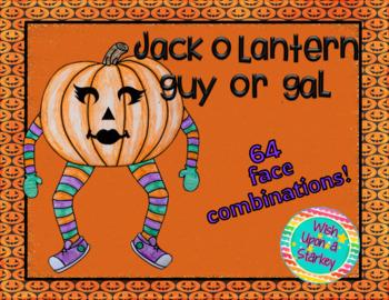 Jack-O-Lantern Guy or Gal Craft