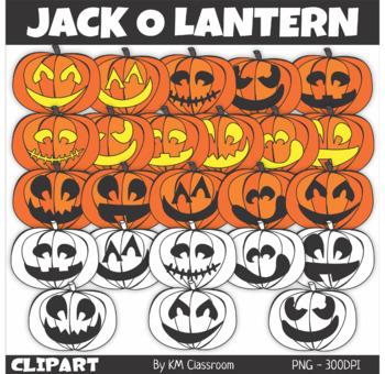 Jack-O-Lantern Halloween ClipArt