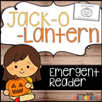 Jack O Lantern - Halloween Emergent Reader