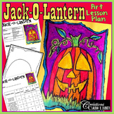 Jack-O-Lantern : Halloween Art Project