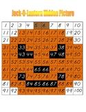 Jack-O-Lantern Hidden Picture (Hundreds Board Activity)
