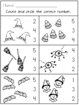 Jack O' Lantern, Jack O' Lantern for Kindergarten * Booklet * Numbers * Patterns