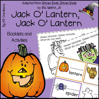 Jack O Lantern Jack O Lantern Activities in Kindergarten