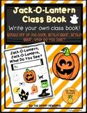 Jack-O-Lantern, Jack-O-Lantern, What Do You See? (Write an Original Class Story)