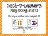 Jack-O-Lantern Play Dough Mats Images 6-10