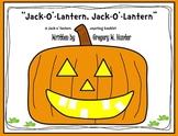 Jack-O'-Lantern Pumpkin Booklet, Rebus Poem, and Craftivity for Halloween