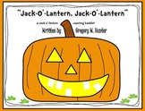 Jack-O'-Lantern Pumpkin Booklet, Rebus Poem, and Craftivit