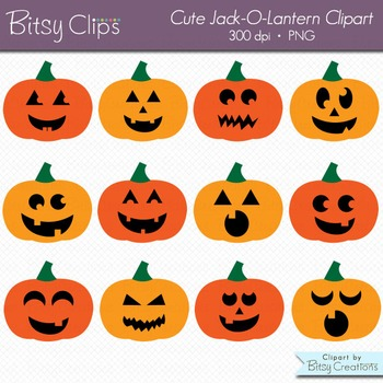 Jack O Lantern Pumpkin Clipart Commercial Use Clip Art WIT