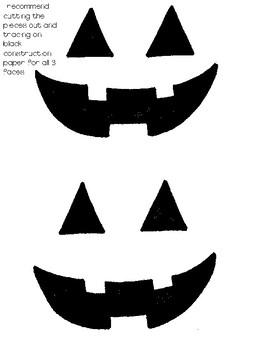 Jack-O-Lantern Pumpkin Craft with Poem