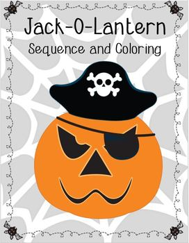 Jack-O-Lantern Sequence and Coloring