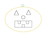 Jack O Lantern Shape Trace