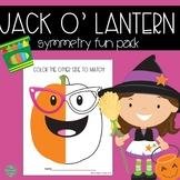 Jack O' Lantern Symmetry Fun