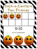 Jack-O-Lantern Ten Frames