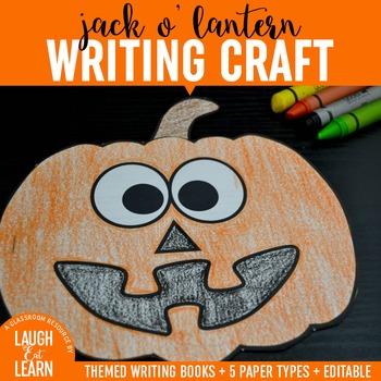 Jack O Lantern Writing Craft