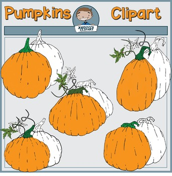{Freebie} Jack O' Lanterns & Pumpkins Clipart