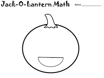 Jack O Latern Math - Solving Systems