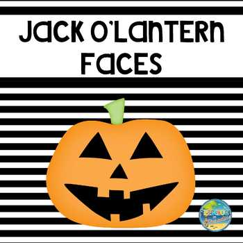 Jack Olantern Faces Whats Missing By Preschool In Paradise Tpt