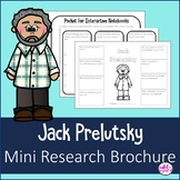 Jack Prelutsky Mini Research Brochure Author Study