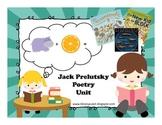 Jack Prelutsky Poetry Extension Unit