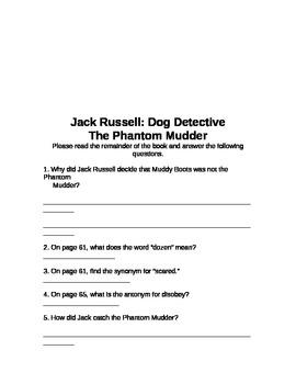 Jack Russell: Dog Detective The Phantom Mudder