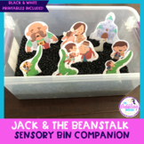 Jack & The Beanstalk Sensory Bin Companion