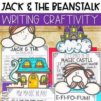 Jack & The Beanstalk Writing Craftivity