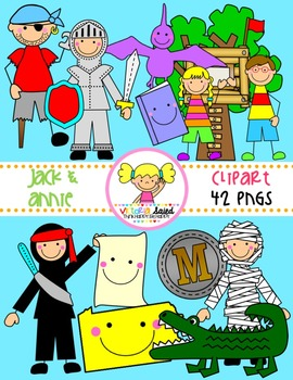 Jack and Annie Clipart