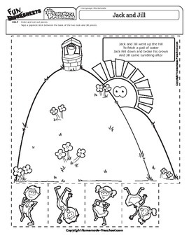 Jack and Jill - Nursery Rhyme Activity
