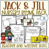 Jack and Jill Reading and Writing Activities