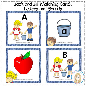 Jack and Jill ABC Matching Cards