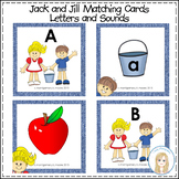Nursery Rhymes: Jack and Jill ABC Letters and Sounds Match