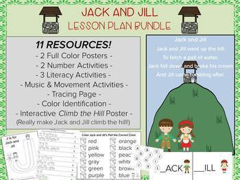 Jack and Jill Nursery Rhyme, Music Activity, Music and Movement